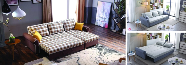 Biến hóa căn hộ nhỏ cũ kỹ trở nên tiện nghi, hiện đại nhờ nội thất thông minh  - Ảnh 3.