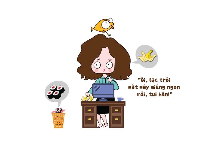 24 giờ của mẹ bỉm công sở thuộc team não cá vàng - Ảnh 4.