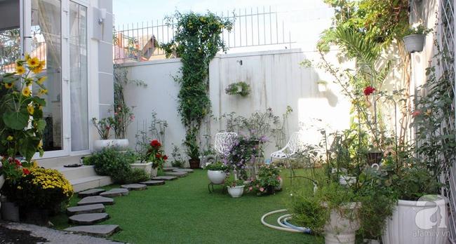 Ngôi nhà vườn rộng 200m² nhìn đâu cũng thấy cây và hoa rực rỡ ở TP HCM - Ảnh 6.