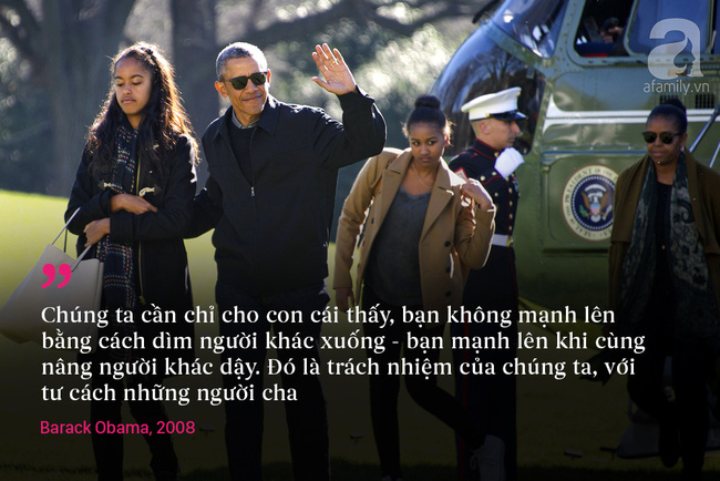 10 châm ngôn nuôi dạy con để đời của vợ chồng Barack Obama - Ảnh 8.