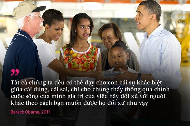 10 châm ngôn nuôi dạy con để đời của vợ chồng Barack Obama - Ảnh 10.