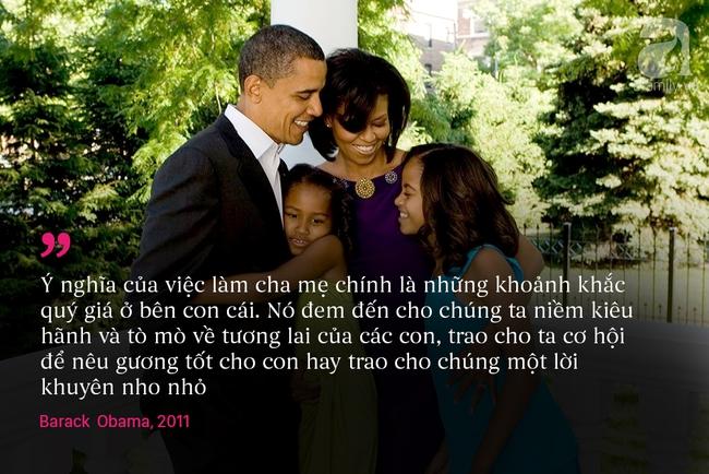 10 châm ngôn nuôi dạy con để đời của vợ chồng Barack Obama - Ảnh 2.