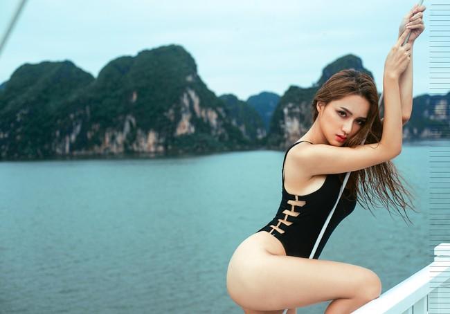 Không chỉ có sao ngoại, sao Việt cũng đang thi nhau diện kiểu áo bơi khoét hông cao sexy hết nấc - Ảnh 9.