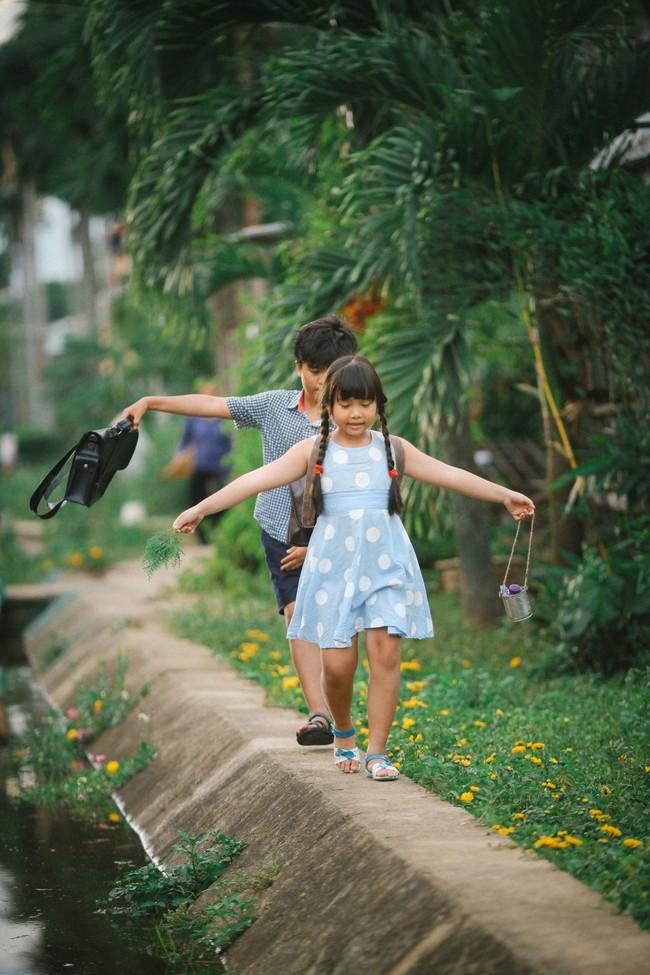 Ai từng trải qua tuổi học trò cũng đều xao xuyến khi nhìn hình ảnh này của Miu Lê - Ngô Kiến Huy - Ảnh 7.