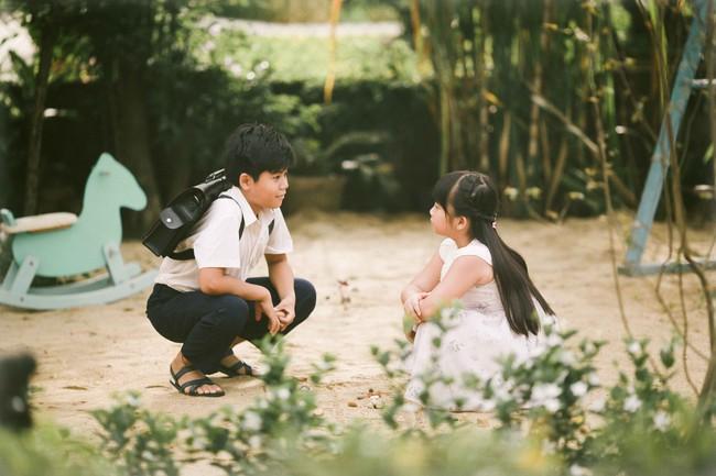 Ai từng trải qua tuổi học trò cũng đều xao xuyến khi nhìn hình ảnh này của Miu Lê - Ngô Kiến Huy - Ảnh 8.