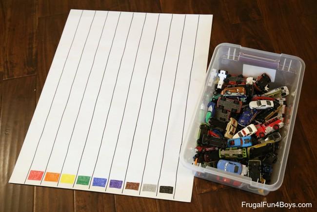 Dạy con phân biệt màu sắc với biểu đồ sắc màu siêu đơn giản - Ảnh 3.