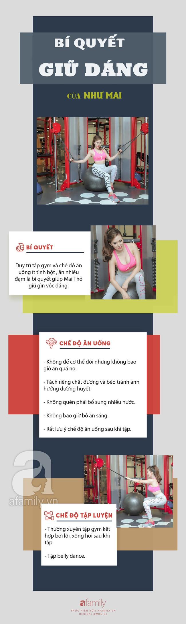 Quan niệm ăn uống và tập luyện giữ dáng của hot girl Mai Thỏ: Tăng cơ chứ không tăng mỡ - Ảnh 11.