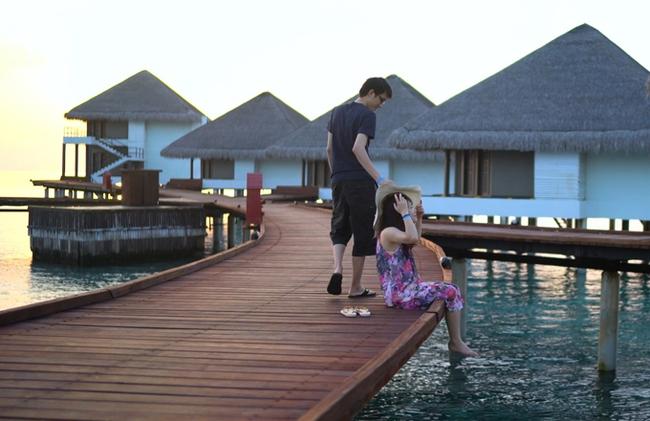 Anh chồng tâm niệm nhất vợ nhì trời và chuyến đi Maldives không có lấy một tấm ảnh sống ảo vì mải... chụp cho vợ - Ảnh 14.