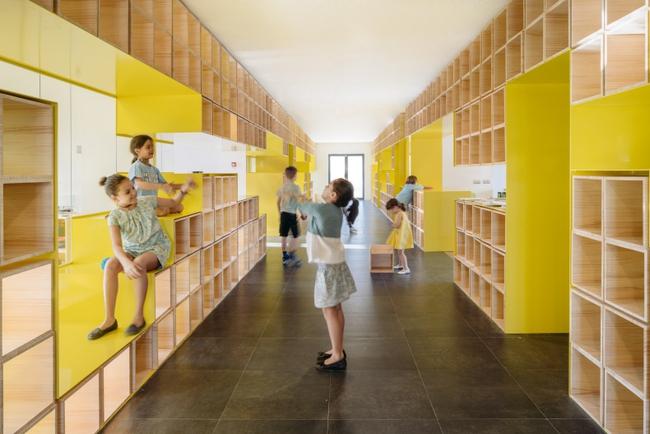 Tham quan ngôi trường tiểu học có thiết kế sinh động không khác gì khu vui chơi - Ảnh 1.