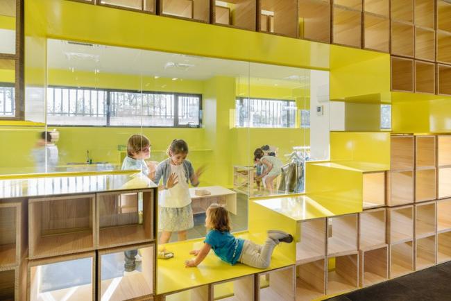 Tham quan ngôi trường tiểu học có thiết kế sinh động không khác gì khu vui chơi - Ảnh 2.