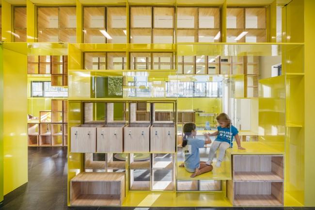 Tham quan ngôi trường tiểu học có thiết kế sinh động không khác gì khu vui chơi - Ảnh 3.