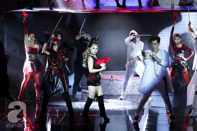 Hóa nàng sen ở The Remix, Hương Giang Idol vẫn bị loại thẳng thừng - Ảnh 8.