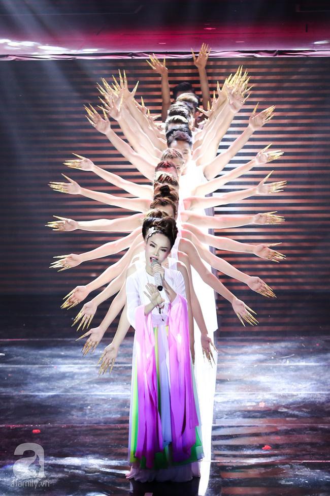 Hóa nàng sen ở The Remix, Hương Giang Idol vẫn bị loại thẳng thừng - Ảnh 11.