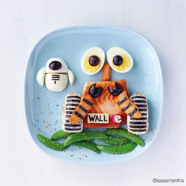 Bà mẹ khéo tay nhất năm biến những bữa ăn của con thành thế giới hoạt hình đầy màu sắc - Ảnh 23.