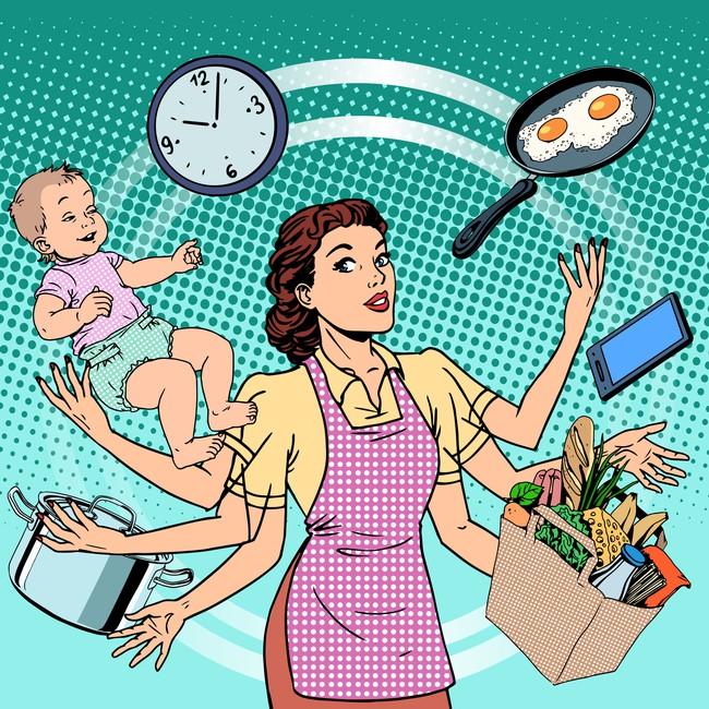 """Bà mẹ ở nhà chăm con """"đáng giá"""" bao nhiêu? Câu trả lời khiến bạn thêm nể phục các mẹ - Ảnh 3."""