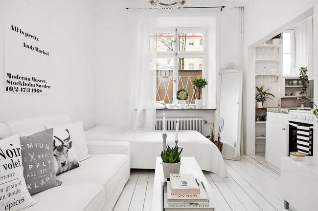 Căn hộ nhỏ trong khu chung cư cũ nhưng vẫn vô cùng xinh đẹp và tinh tế với phong cách Scandinavian  - Ảnh 5.
