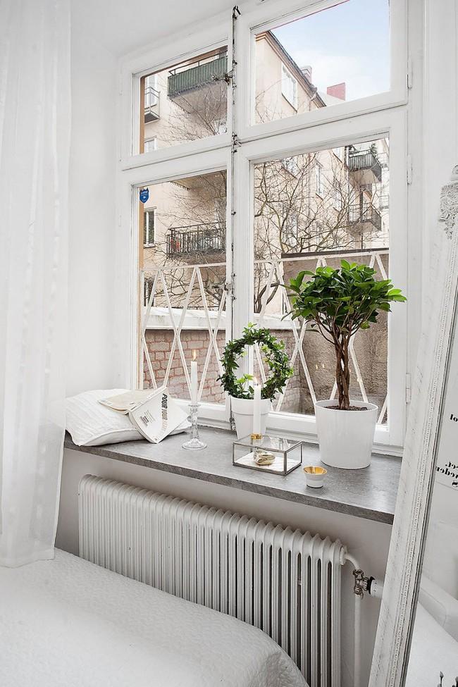 Căn hộ nhỏ trong khu chung cư cũ nhưng vẫn vô cùng xinh đẹp và tinh tế với phong cách Scandinavian  - Ảnh 6.