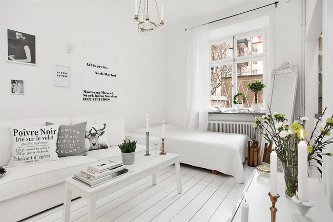 Căn hộ nhỏ trong khu chung cư cũ nhưng vẫn vô cùng xinh đẹp và tinh tế với phong cách Scandinavian  - Ảnh 7.