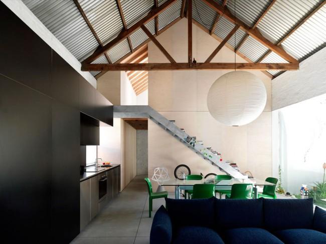 Cải tạo nhà kho cũ thành nhà cấp 4 với không gian sống đẹp hiện đại, gần gũi với tự nhiên - Ảnh 6.