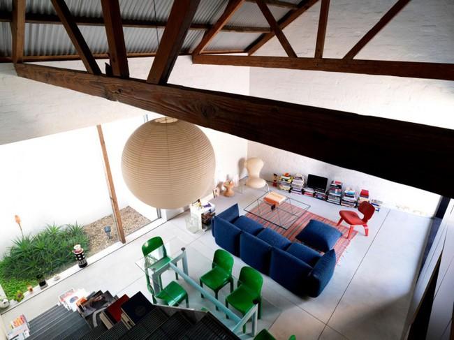Cải tạo nhà kho cũ thành nhà cấp 4 với không gian sống đẹp hiện đại, gần gũi với tự nhiên - Ảnh 8.