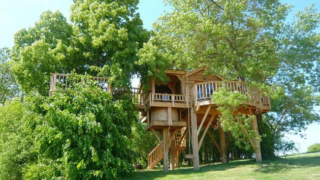 Ngỡ ngàng với ngôi nhà nhỏ xíu có bồn tắm tiện nghi nhìn ra rừng cây - Ảnh 3.