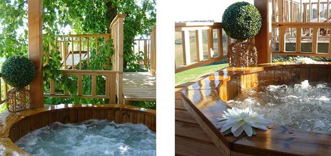 Ngỡ ngàng với ngôi nhà nhỏ xíu có bồn tắm tiện nghi nhìn ra rừng cây - Ảnh 9.