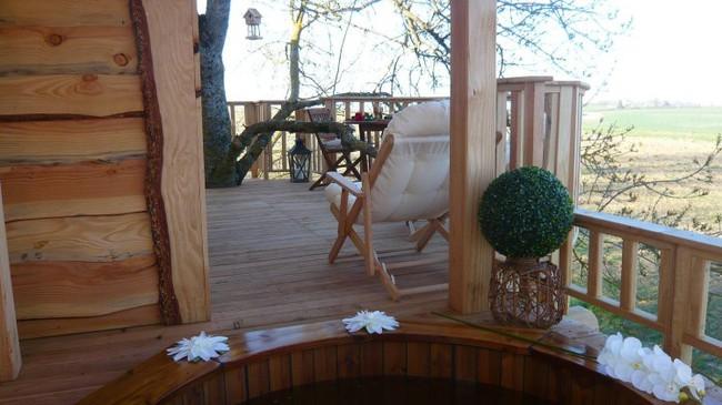 Ngỡ ngàng với ngôi nhà nhỏ xíu có bồn tắm tiện nghi nhìn ra rừng cây - Ảnh 10.