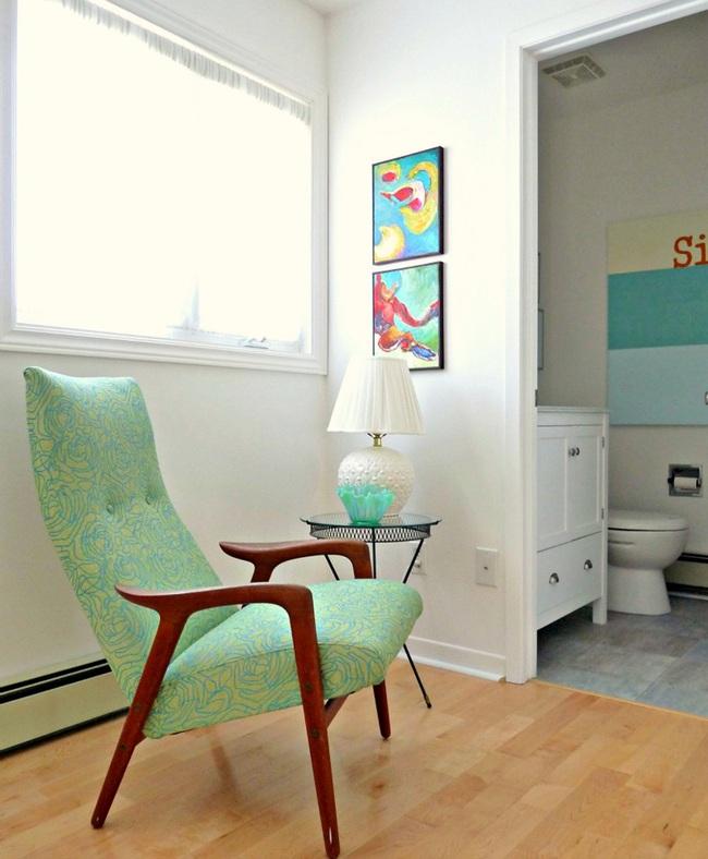 Cải tạo căn hộ cũ kỹ, tối tăm thành không gian đẹp quyến rũ dành cho vợ chồng mới cưới - Ảnh 2.