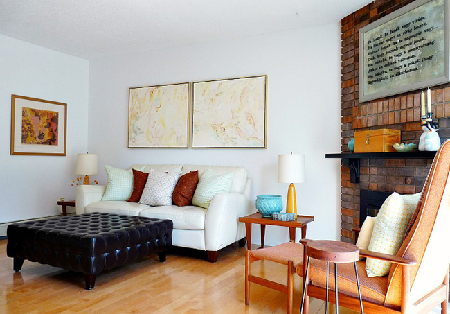 Cải tạo căn hộ cũ kỹ, tối tăm thành không gian đẹp quyến rũ dành cho vợ chồng mới cưới - Ảnh 3.