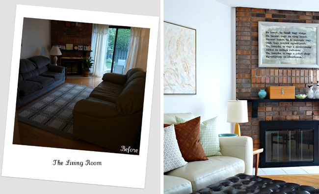 Cải tạo căn hộ cũ kỹ, tối tăm thành không gian đẹp quyến rũ dành cho vợ chồng mới cưới - Ảnh 4.