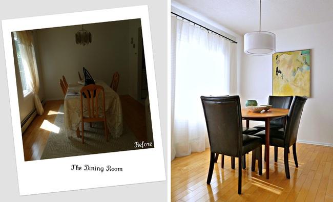Cải tạo căn hộ cũ kỹ, tối tăm thành không gian đẹp quyến rũ dành cho vợ chồng mới cưới - Ảnh 5.