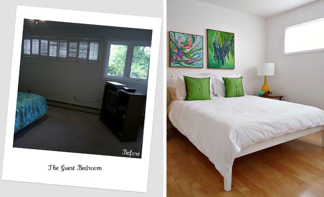 Cải tạo căn hộ cũ kỹ, tối tăm thành không gian đẹp quyến rũ dành cho vợ chồng mới cưới - Ảnh 9.