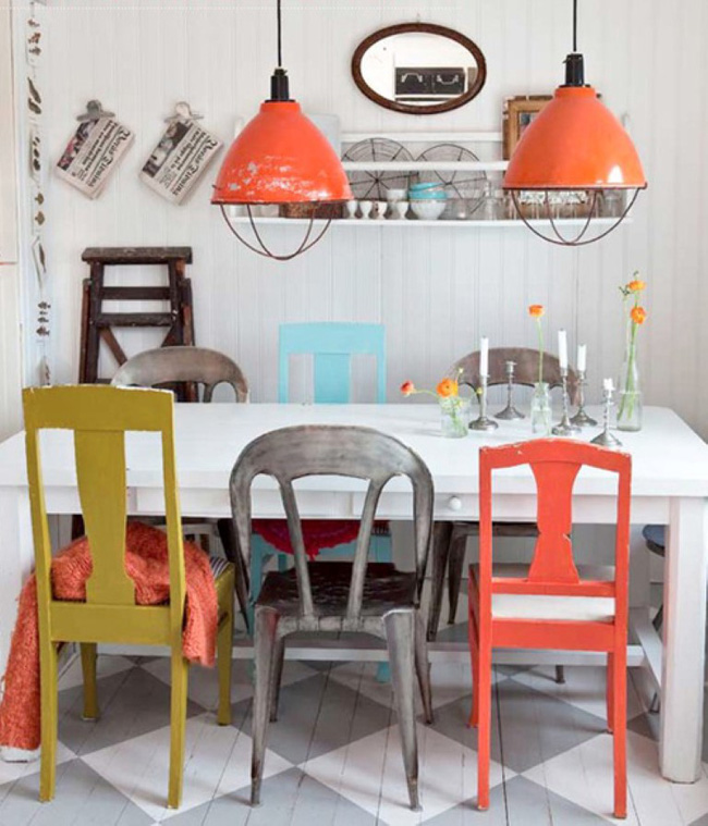3 ý tưởng kết hợp đồ nội thất cho phòng ăn nhà bạn đẹp độc đáo - Ảnh 10.