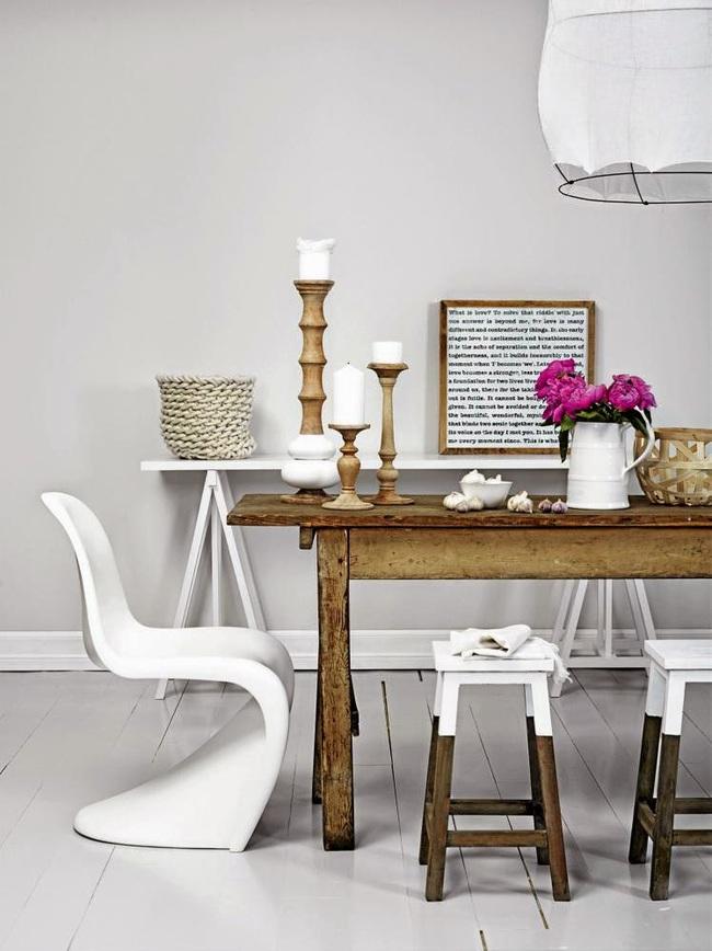 Mẹo thiết kế nội thất phòng ăn