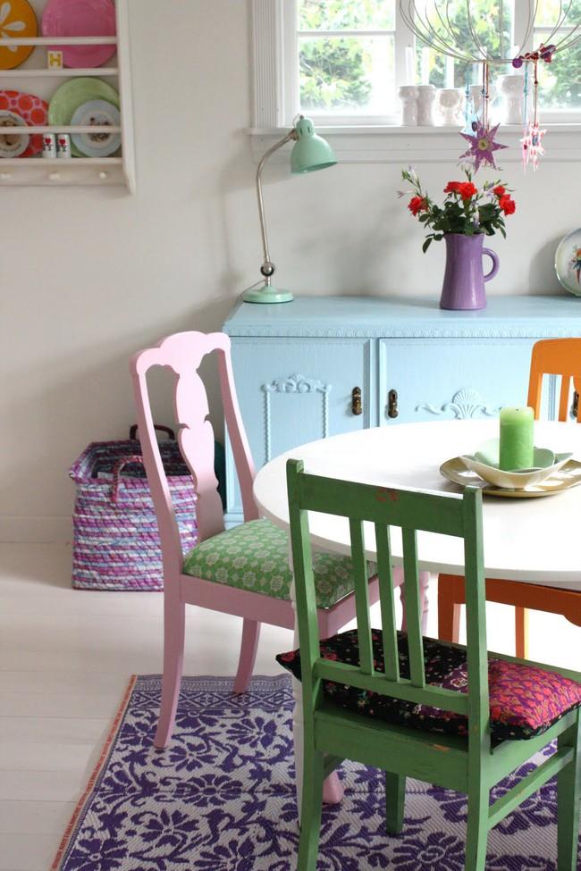 3 ý tưởng kết hợp đồ nội thất cho phòng ăn nhà bạn đẹp độc đáo - Ảnh 16.