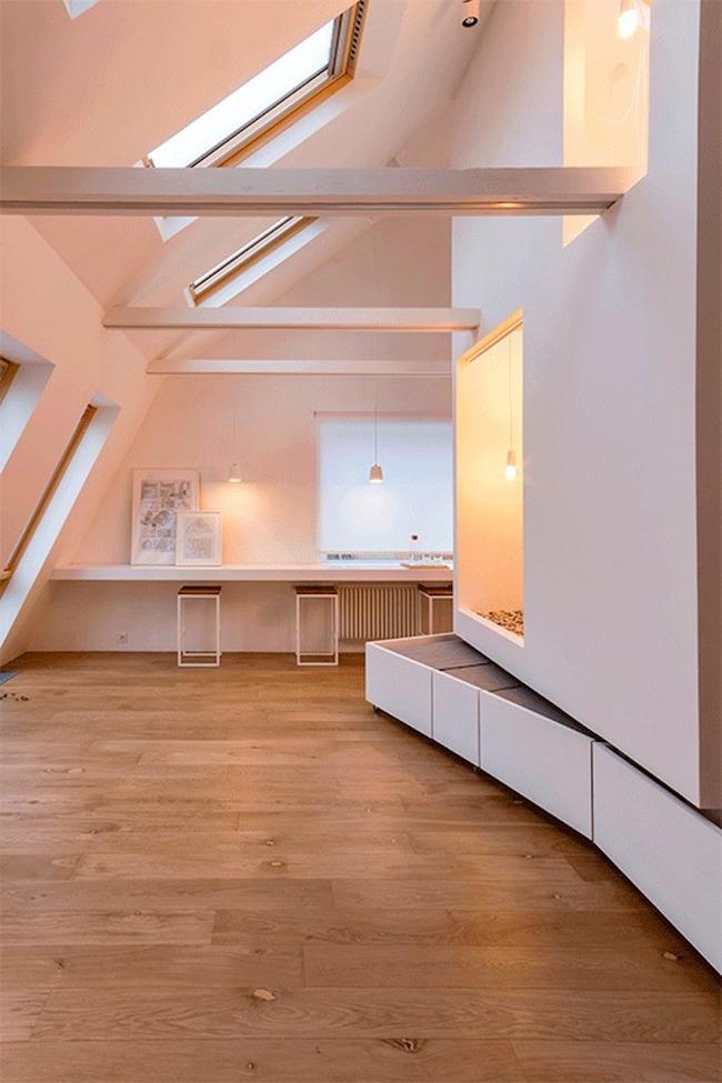 Ấn tượng với ngôi nhà chỉ 48m² nhưng có khoảng xanh cực bắt mắt với phòng khách treo lơ lửng - Ảnh 15.
