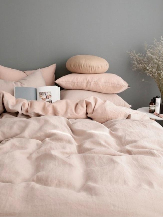 Ngọt ngào như những căn phòng ngủ sơn màu hồng đào - Ảnh 4.