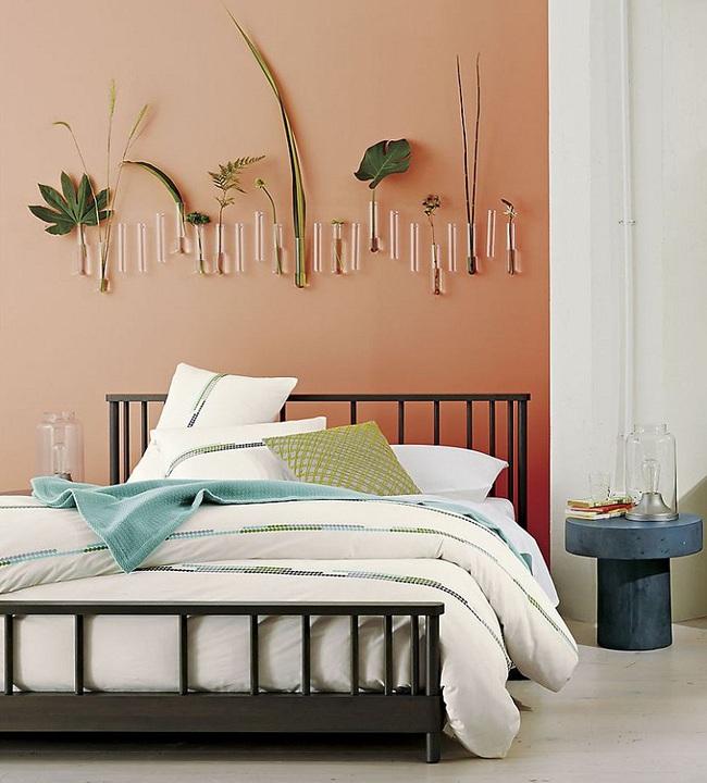 Ngọt ngào như những căn phòng ngủ sơn màu hồng đào - Ảnh 6.