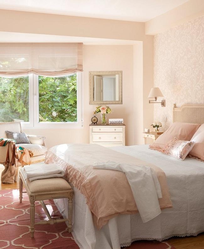 Ngọt ngào như những căn phòng ngủ sơn màu hồng đào - Ảnh 7.
