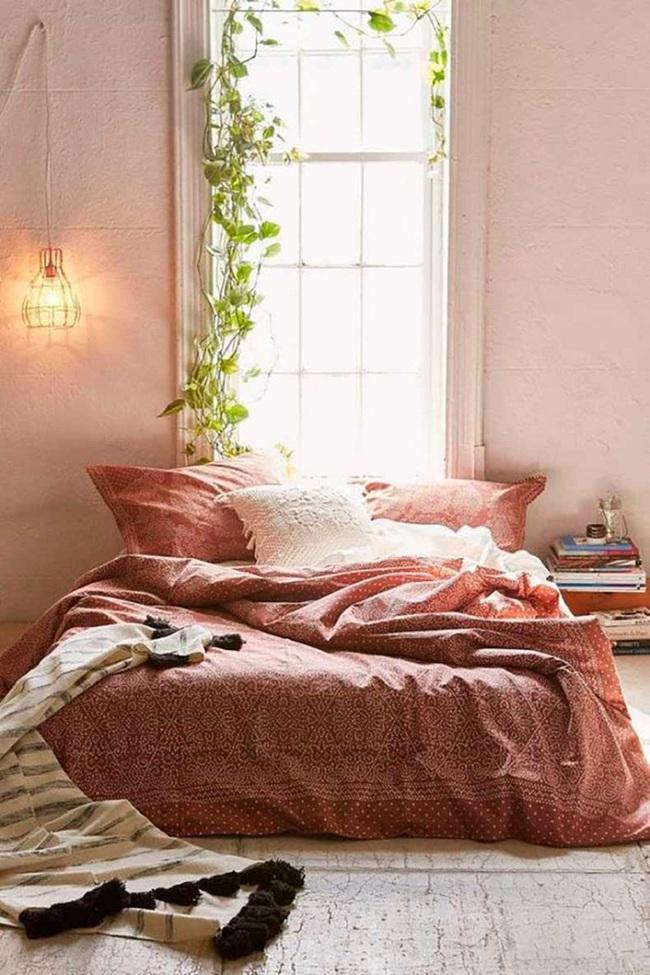 Ngọt ngào như những căn phòng ngủ sơn màu hồng đào - Ảnh 10.
