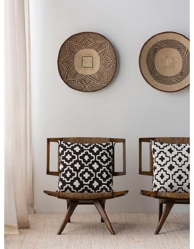 Tường nhà bớt nhàm chán với những món đồ trang trí bằng mây tre đan độc đáo - Ảnh 7.