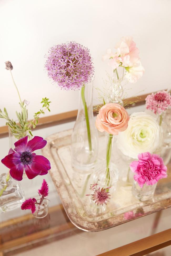 ý tưởng cắm hoa trang trí