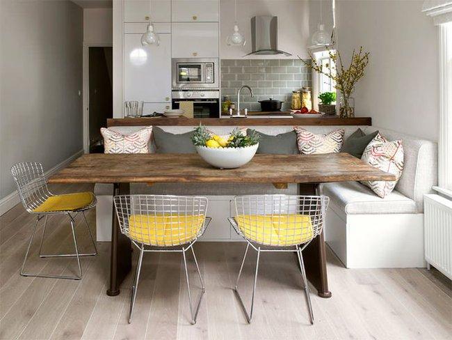 20 ý tưởng thiết kế phòng bếp kiểu mở nhìn là muốn học theo - Ảnh 4.