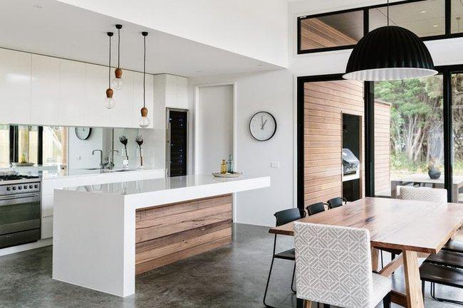 20 ý tưởng thiết kế phòng bếp kiểu mở nhìn là muốn học theo - Ảnh 10.
