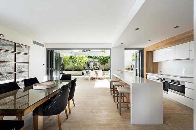 20 ý tưởng thiết kế phòng bếp kiểu mở nhìn là muốn học theo - Ảnh 11.
