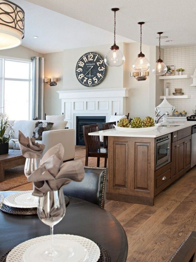 20 ý tưởng thiết kế phòng bếp kiểu mở nhìn là muốn học theo - Ảnh 16.