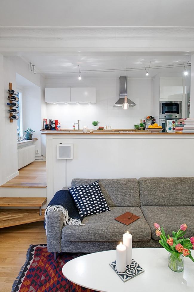 20 ý tưởng thiết kế phòng bếp kiểu mở nhìn là muốn học theo - Ảnh 17.