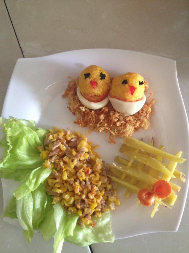 Học lỏm mẹ Việt cách trang trí món ăn dặm cho con đầy màu sắc - Ảnh 5.