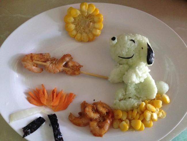 Học lỏm mẹ Việt cách trang trí món ăn dặm cho con đầy màu sắc - Ảnh 18.
