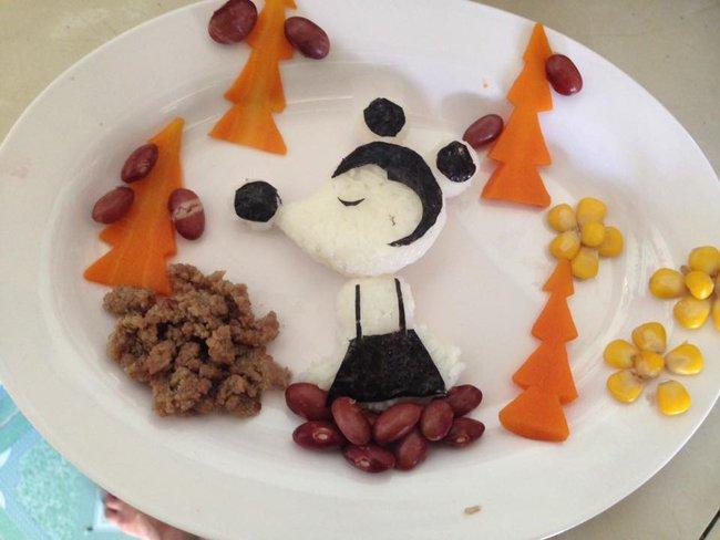 Học lỏm mẹ Việt cách trang trí món ăn dặm cho con đầy màu sắc - Ảnh 20.
